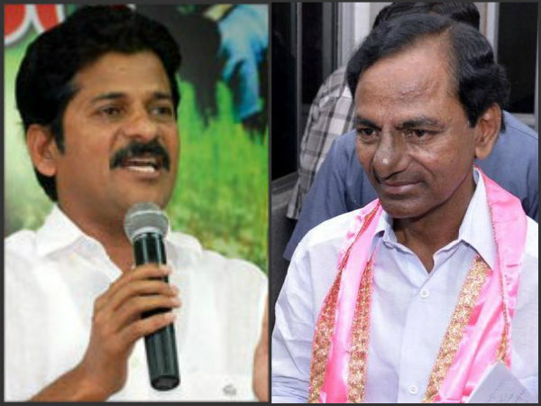 Revanth Reddy blames KCR for not giving mike in assembly