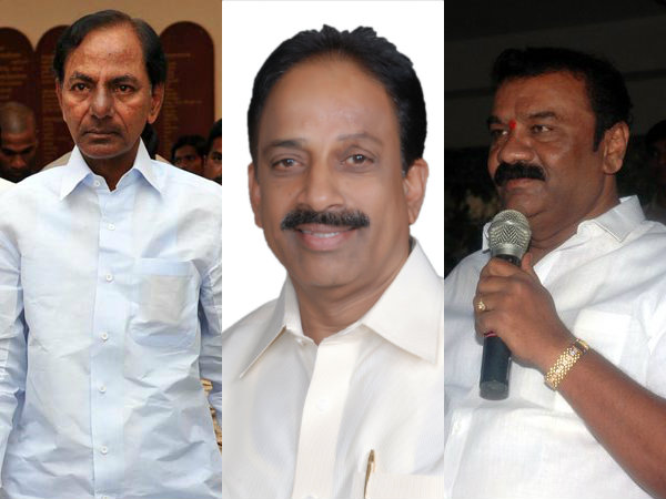 TRS to woo AP voters via Talasani and Tummala
