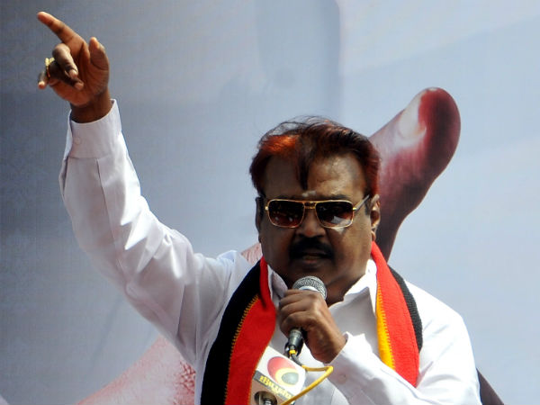 Vijayakanth to decide soon about campaigning for BJP in Srirangam