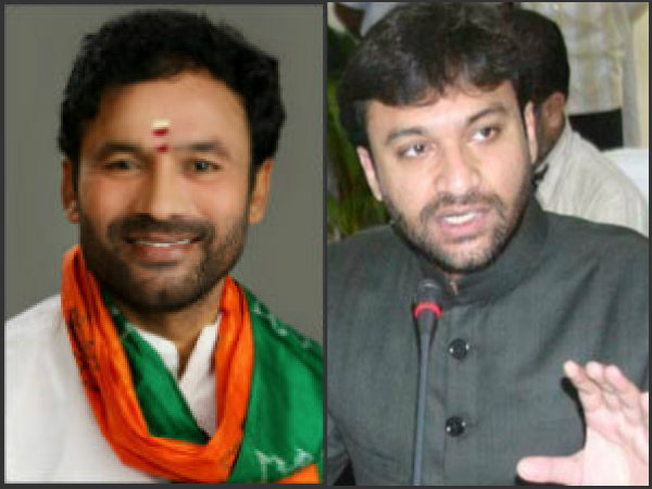 Interesting conversation between Kishan Reddy and Akbaruddin