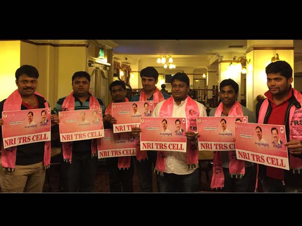 NRIs Call to vote for TRS MLC candidates by NRI TRS CELL