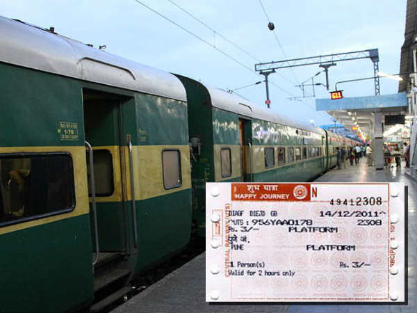 Railway Platform Ticket to Cost Rs. 10 from April 1