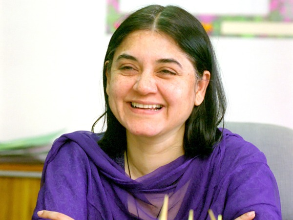 Use cow urine to clean offices, says Maneka Gandhi