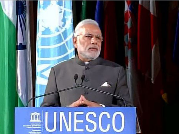 Highlights: What PM Narendra Modi said at UNESCO Headquarters in Paris