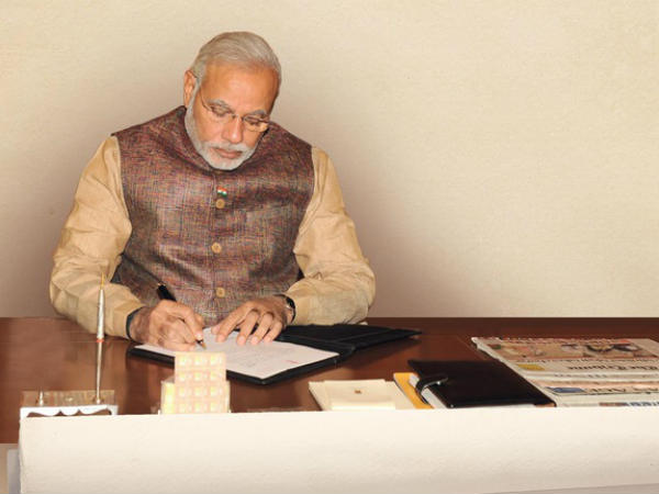 Modi writes an open letter to the citizens, urges them to work together for a better India