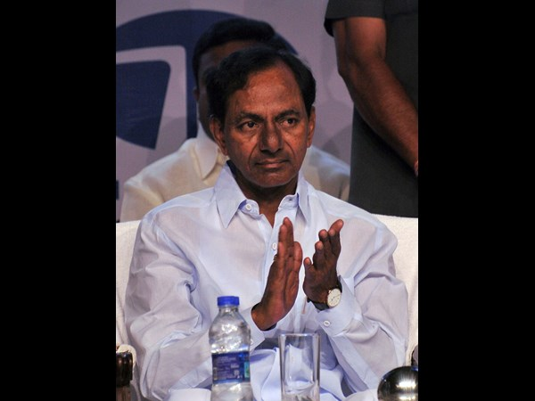 Cm Kcr Names Gaddar His Speech