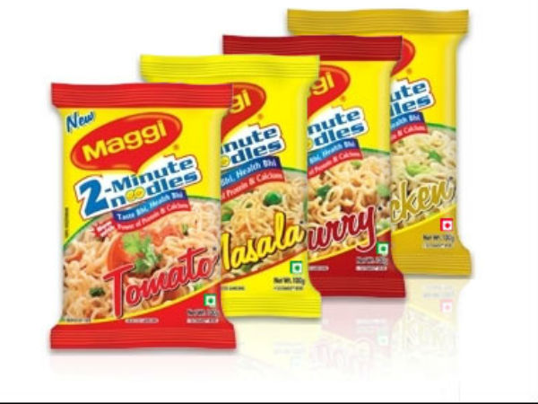Indian Maggi sales ban in Dubai