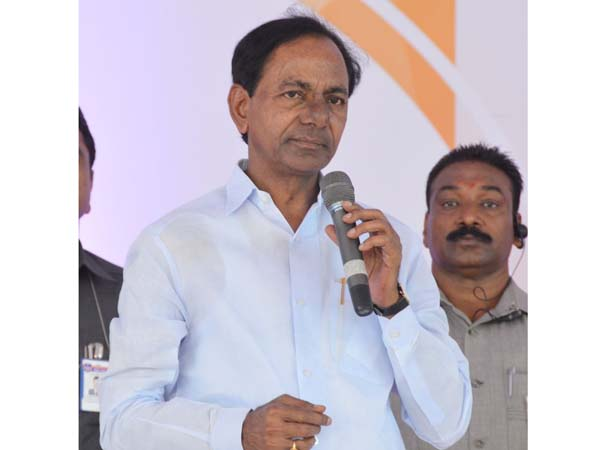 Cm Kcr Inaugurates Yadhadhri Thermal Power Plant