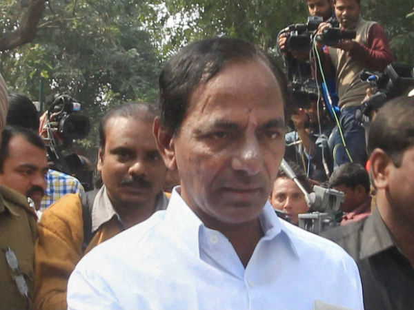 No entry for media at KCR Farmhouse