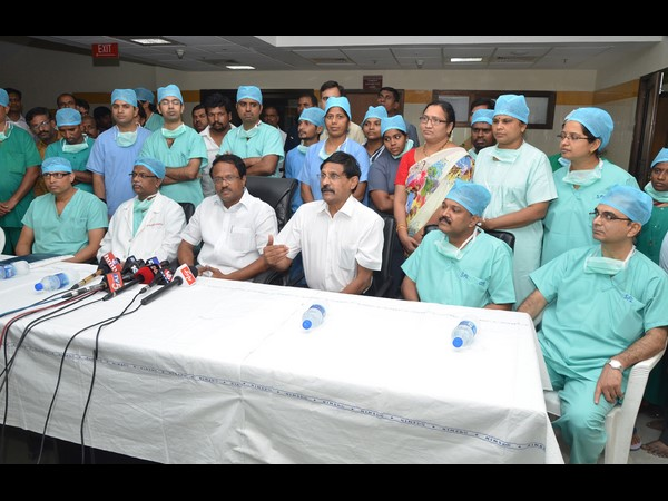 First cadaver liver transplant at Nizam's Institute of Medical Sciences