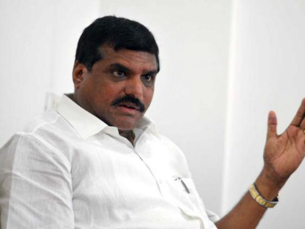 Botsa Lashes Out At Krishna District Minister
