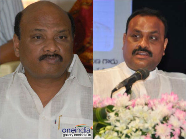 Minister Ayyanna Patrudu says congress and ys jagan are cause for state bifurcation