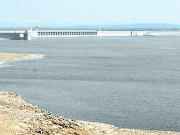 Godavari water in Krishna district