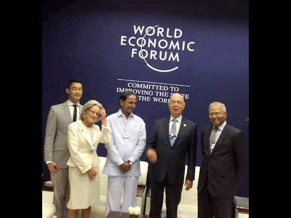 KCR speech in world economic forum