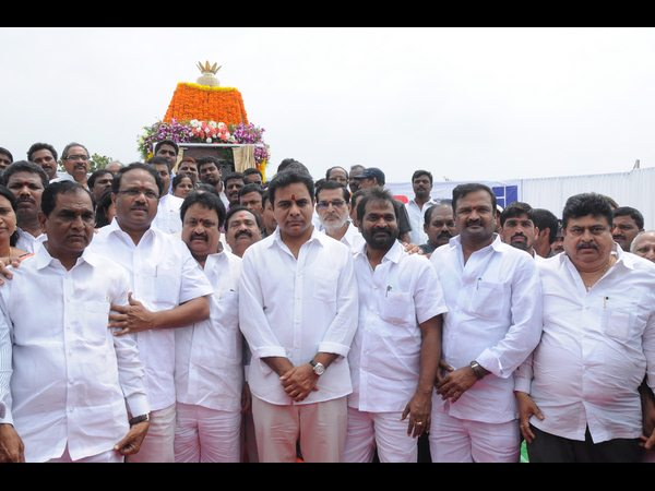 Chandrababu conspiring on Telangana projects: KTR