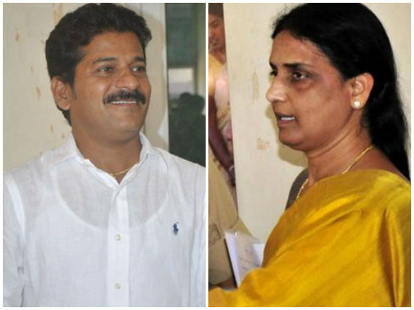 Sabitha Indra Reddy and Revanth Reddy for Pranahitha and Chevella