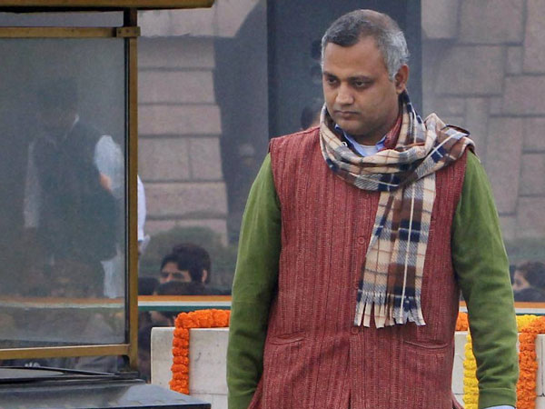 Delhi Police gets 2-day custody of Somnath Bharti