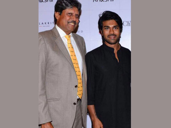 Ram Charan and other Celebs At Kapil Dev's NGO Khushii Art Auction