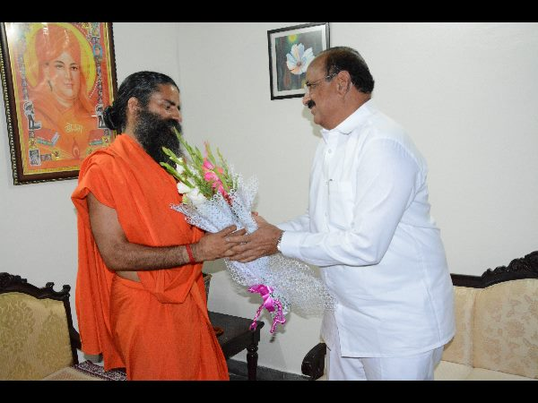 Ramdev baba also invited for amaravati foundation day