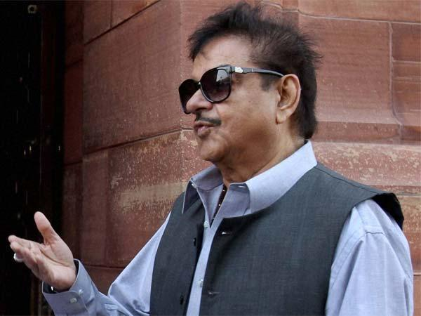 BJP MP Shatrughan Sinha:No one has the guts or BJP to reprimand us