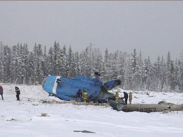Killed Russian Helicopter Crash