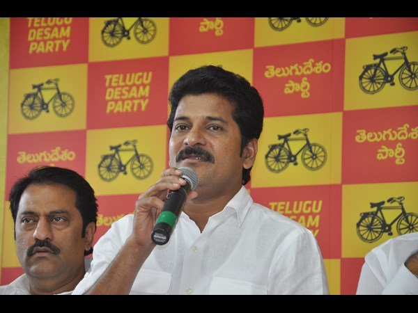 Revanth Reddy says 'NO' to BJP leader