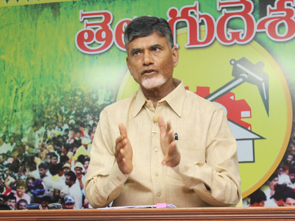 Chandrababu Says He Will Not Fear Opposition