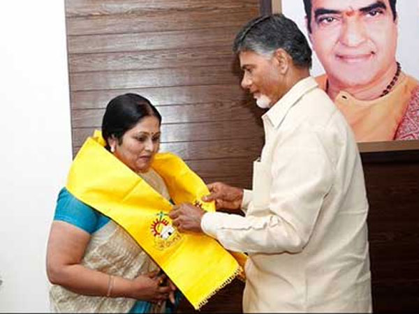 No Cine star able to continue in TDP: jayasudaha made a mistake?