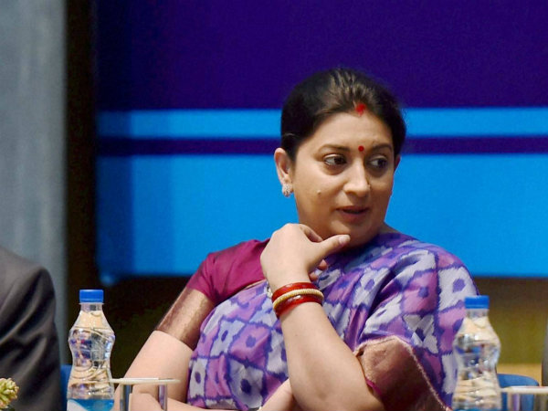 Rohith suicide: National parties targets Smriti Irani