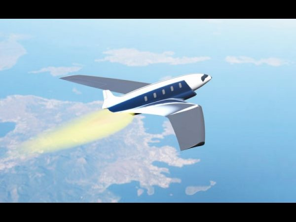 Hypersonic Jet: London to New York in 11 minutes