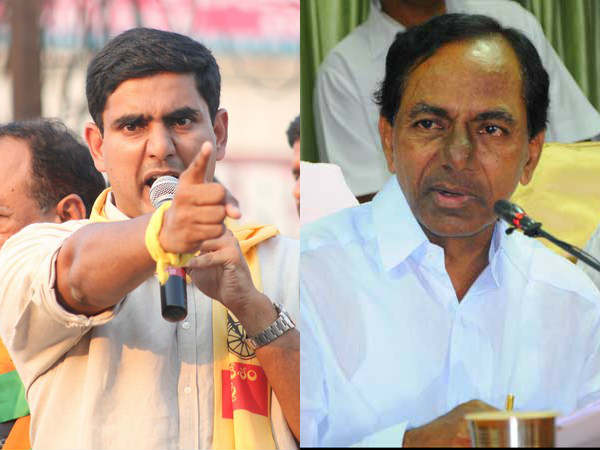 Nara Lokesh counter to KCR comments on Bhuvaneswari