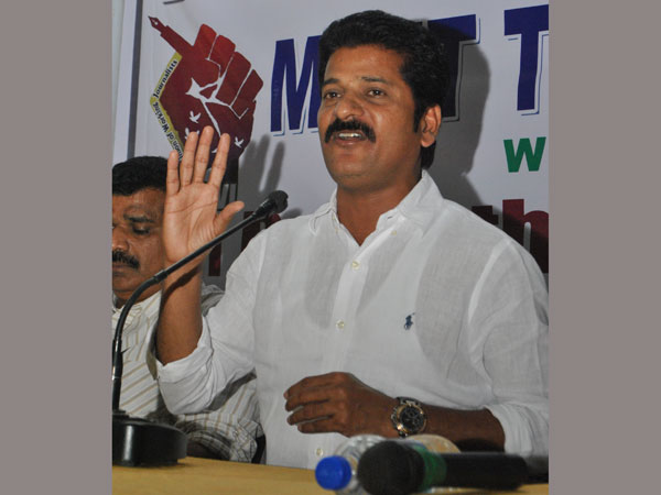 Revanth Reddy unhappy with Errabelli letter