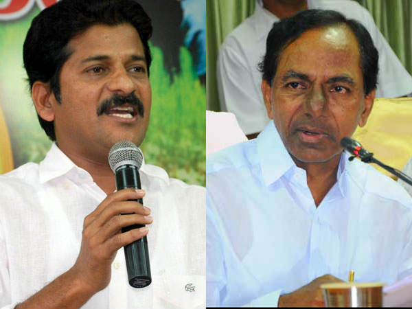 Revanth Reddy visits CM KCR adopted village