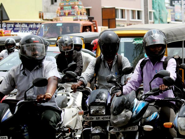 Man sent jail for two days without helmet in hyderabad
