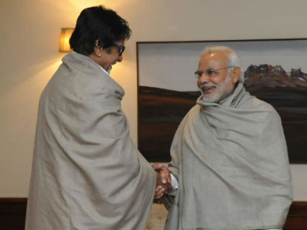 PM Narendra Modi planning to nominate Amitabh Bachchan's name for next President of India?