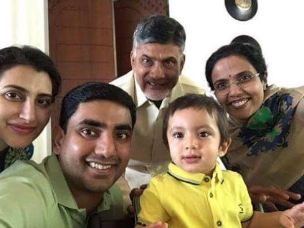 Chandrababu donates Rs 20 lakh on Devansh Birth day