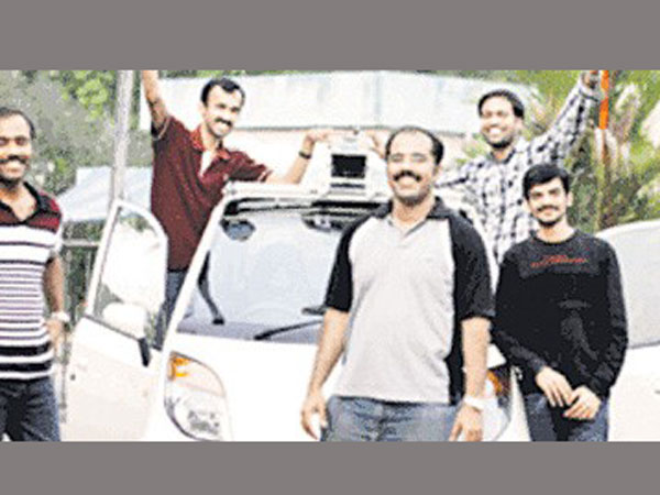 Bangalore engineer found indian car without driver