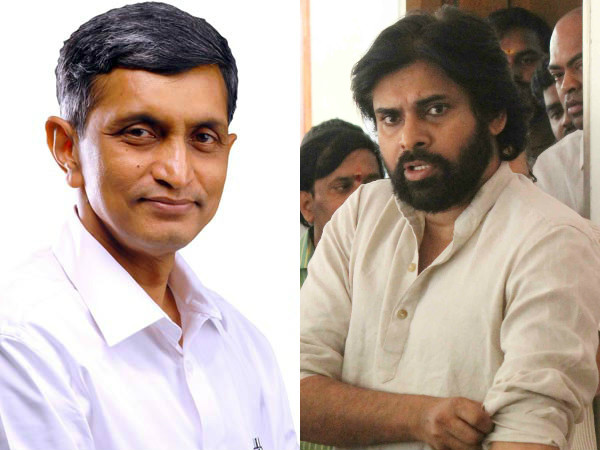 Pawan Kalyan unhappy with JP's withdrawl from politics?