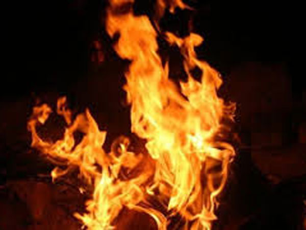 Spurned lover sets fire to GG's house