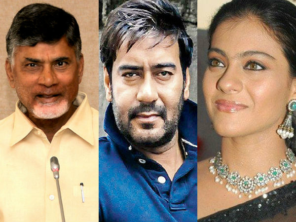 Ajay Devgan and Kajol are tourism ambassadors of AP