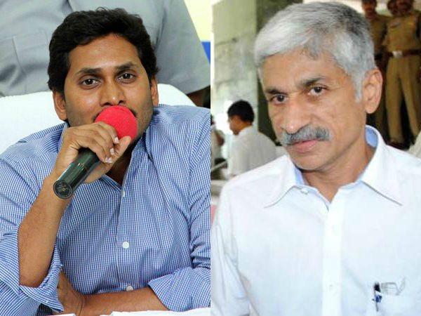 YS Jagan send Vijaya Sai to Vizianagaram