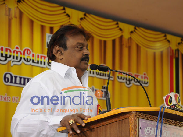 Vijayakanth Speech: Do I Look Like a Man Who took 1500 Crore From Jayalalthaa ?