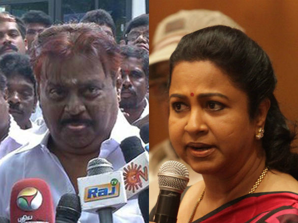 Radhika lashes out at vijayakanth