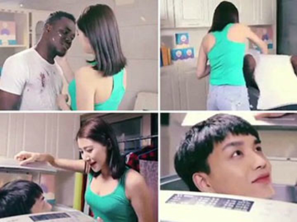 Race Row Over Chinese Laundry Detergent Company Qiaobi S Com