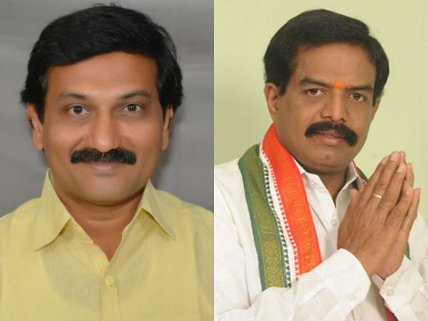 tdp leaders fighting in west godavari district narsapur