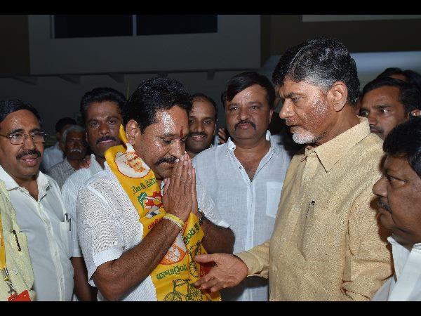 Palamaner Mla Amarnath Reddy Joins Tdp