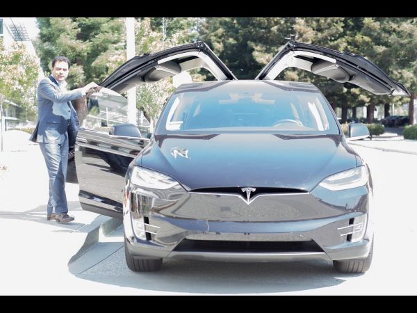 Ktr Visits Silicon Valley Drives Electric Car