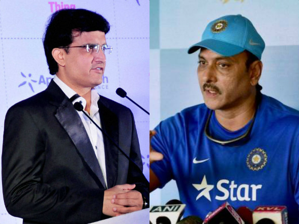 Sourav Ganguly wasn't there when I was interviewed, says Ravi Shastri