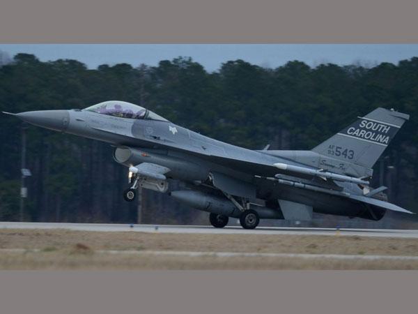 South Carolina Air National Guard F 16s Crash In Georgia