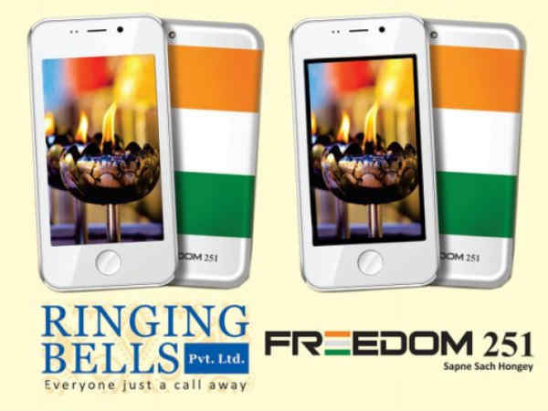 Ringing Bells Freedom 251 LED TV launched for Rs 9,900